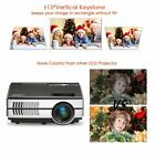Android WiFi LCD Home Cinema Projector 1080P Movie Game Multimedia HDMI USB VGA