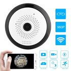 360° Panoramic Wifi IP Fisheye Camera Night Vision Home Security 960P HD ZZ