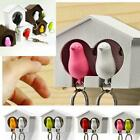Внешний вид - Bird/Sparrow Key Ring Birdhouse Wall Mount Hook Key Hanger Holder J