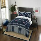 Twin Queen NFL New England Patriots Bed Comforter Sheet Pillowcase 4-Piece Set on eBay