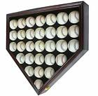 Внешний вид - Shadow Box Wall Cabinet to hold 30 Baseball Display, UV Protection Door B230