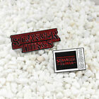 Cartoon TV English Letter Stranger Things Badge Clothes Brooch Pin Jewelry New image