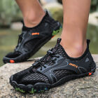 Men's Water River Sports Shoes Trail Hiking Outdoor Snekaers Mesh Breathable Hot