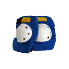 RECTOR NOS Old School Skateboard Protector Knee Pads Blue Small or Medium