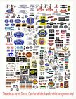 1: 24 1:18 Ford,Chevy Plymth,Mopar DECALS FOR DIECAST & MODEL CARS DIORAMA
