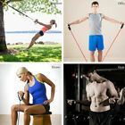 Elastic Resistance Loop Bands GYM Yoga Exercise Fitness Workout Stretch Physio image