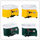 110V 250W Electric Pottery Wheel Forming Machine DIY Clay Tool with Tray for Kid image