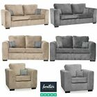 Nancy Fabric Sofas In Grey & Beige | 3 Seaters, 2 Seaters, Sofa Beds & Armchairs
