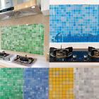 Kitchen Bathroom Tile Mosaic Sticker Self-adhesive Waterproof Home Wall Decor By
