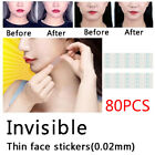 1/80pcs Face Lift V Shape Face Label Lift Up Maker Chin Adhesive Tape Tool Gift image