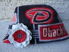 Arizona Diamondbacks Fleece Flower Hat - Newborn, Girls, Children, Adult women on Ebay