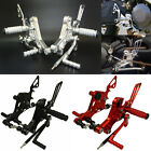 Adjustable Rearsets Foot Rest Peg Rear Set For DUCATI Monster S2R S4 S4R S4RS US image