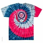 GRATEFUL DEAD-WASHINGTON NATIONALS-STEAL YOUR BASE-TIE DYE T SHIRT S-M-L-XL-XXL on Ebay
