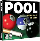 POOL - Billiards At It's Best (PC-CD, 2004) Win 98/ME/2000/XP - NEW CD in SLEEVE $9.75 USD on eBay