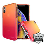 Safetee Flow iPhone Xs Max Case Clear Gradient Multicolor Cover Shookproof 6.1''