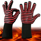 BBQ Gloves Fireproof Cooking Oven Grilling Silicone Kitchen Mitts Welding 1/2 Pc