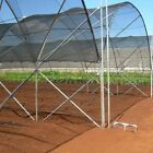 Agfabric 40% Sunblock Shade Cloth Cover with Clips for Plants Vegetables, Black