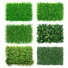 40*60cm Artificial Leaf Hedge Mat Fence Fake Plant Grass Wall Garden Panels Deco