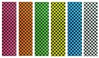 "JESSUP Quality Skateboard Checker Grip Tape 9"" x 33"" Multiple Colors! image"