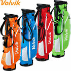 VOLVIK VIVID 2019 LIGHTWEIGHT GOLF STAND CARRY BAG +RAIN HOOD / ALL COLOURS