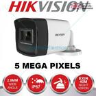 HIKVISION 5MP CCTV CAMERA BULLET 4IN1 80M 40M EXIR NIGHT VISION OUTDOOR IP67 UK