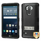 Hybrid Case +Silicone Hybrid +Stand Protector TUFF Cover for LG G Stylo LS770