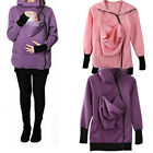 USA Baby Carrier Jacket Kangaroo Hoodie Winter Maternity Hoody Outerwear Coat
