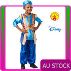 Licensed Kids Genie Aladdin Prince Disney Costume Live Action Child Book Week