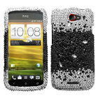 Diamond Bling Jewel Rhinestone Diamante Case Cover Protector for HTC One S