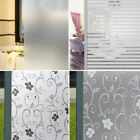 2Mx 45CM PVC Waterproof Frosted Glass Film Sticker for Bathroom Window Privacy