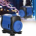 Simple 5/14/20W Ultra-Quiet Submersible Water Pump Fish Pond Tank Fountain