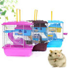 Kyпить Pet Cage Cottage with Transparent Skylight Double Layer House for Hamster на еВаy.соm