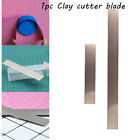 Sculpting Ceramic Tools Polymer Fimo Slicer Stainless Steel Clay Cutter Blade image