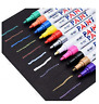 12 Colors Permanent Marker Pen Colorful Waterproof Metal Oilly Fill Paint For CD