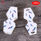 100 Pcs Printing necklace cards bracelet bracelet jewelry display hang tags XE