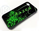 ar0565 - Green Razer Logo Case Cover fits Apple iPhone 6 7 8 Plus
