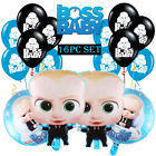 BOSS BABY SHOWER BOY CUP PLATE BANNER TOPPER PARTY DECORATION BALLOONS SUPPLIES