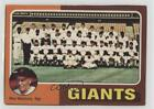 1975 Topps Photo Checklist Sheets Cut Singles San Francisco Giants Team ( Mgr) on Ebay