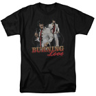 Elvis Presley Burning Love Short Sleeve T-Shirt Licensed Graphic SM-7X