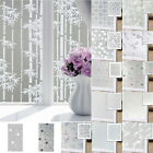 Frosted Frost Glass Privacy Screen Doors Window Static Cling Cover Self Adhesive
