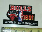 Patch Chicago Bulls 1991 NBA World Champions Black/ White on eBay
