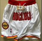 Houston Rockets Vintage Basketball Game Shorts NBA Men's NWT Stitched Pants