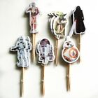 24 x Star Wars Party STAND UP Cup Cake Muffin Toppers Paper