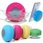 Wireless Waterproof Bluetooth Speaker Music Mic Car Handsfree Speaker Suction