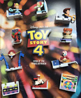 TOY STORY 4 MCDONALDS CHOOSE TOY #1-10 BUZZ LIGHTYEAR, ALIEN, BO PEEP, FORKY New
