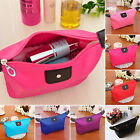 Cosmetic Bag Makeup Cases Toiletry Organizer Handle Storage Pouch Wristlet Purse