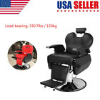 Hydraulic Recline Barber Chair Salon Chair Barber Chairs for Hair Stylist Tattoo