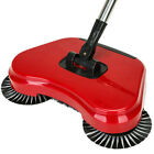 Spin Hand Push Sweeper Broom Household Floor Cleaning Mop without Electricity US