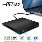 2019 External USB 3.0 DVD RW CD Writer Drive Burner Reader Player For Laptop PC