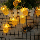 LED Retro Style Pineapple String Lights for Indoor/Outdoor Room Party Wedding